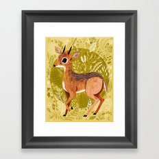 Dikdik! Framed Art Print