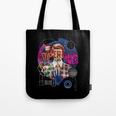 Super Machines Tote Bag