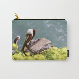California Brown Pelican Carry-All Pouch
