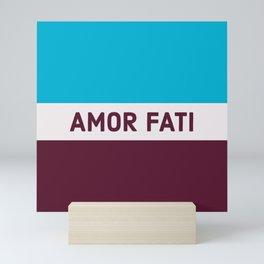AMOR FATI - STOIC WISDOM Mini Art Print