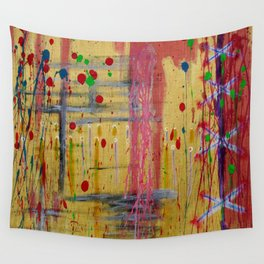 Old Wounds Wall Tapestry