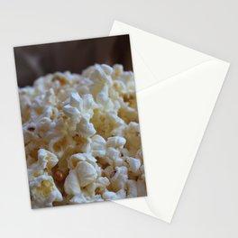 Microwave Popcorn Stationery Cards