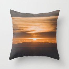 Greece II Throw Pillow