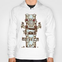 totem Hoodies featuring Totem by tipa graphic