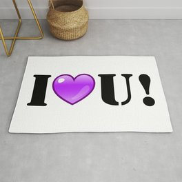 I Purple You! Rug