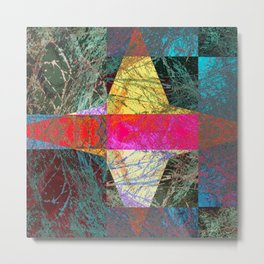 abstract design 7876 Metal Print