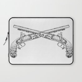 Double Pistols Laptop Sleeve