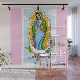 Virgen de Guadalupe Wall Mural