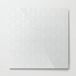 Op art geo abstract isometric vintage stripes  #society6 #decor #buyart #artprint Metal Print