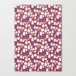 Alice in Wonderland - Purple Madness Canvas Print