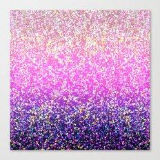 Glitter Graphic Background G104 Canvas Print