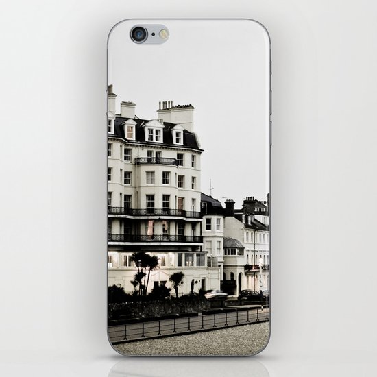 Old sea front iPhone & iPod Skin