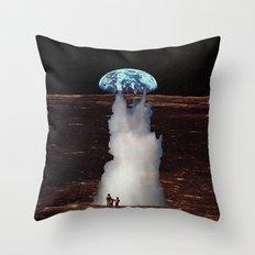ERUTNEVDA Throw Pillow