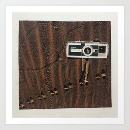 The Secret Life of Cameras I Art Print