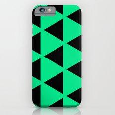 Sleyer Black on Green Pattern iPhone 6s Slim Case