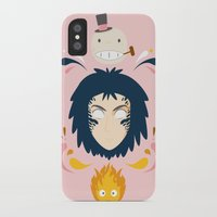 howl iPhone & iPod Cases featuring Howl by Ashley Hay