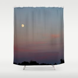 Moon Colors Shower Curtain
