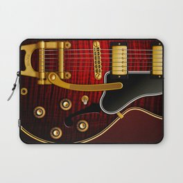 Electric Guitar ES 335 Flamed Maple Laptop Sleeve