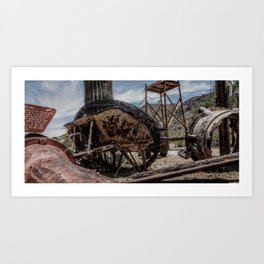 Rusted ambition Art Print