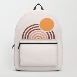 Mincentury Sunset Rainbow Backpack