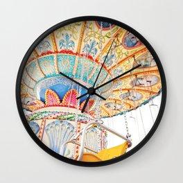 Swing Ride Wall Clock