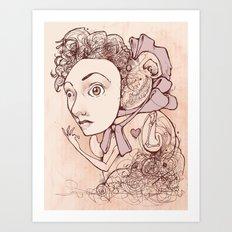 Unnaturally Adorable Art Print