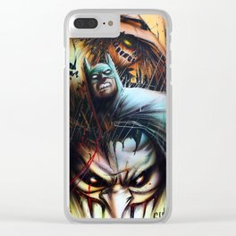 Fearful Vengeance Clear iPhone Case