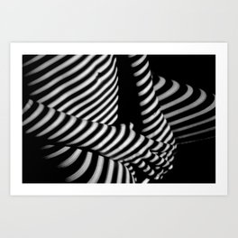 Morning Sun - Female form Black and White Photographic Art Print Art Print