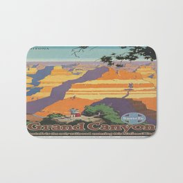 Vintage poster - Grand Canyon Bath Mat