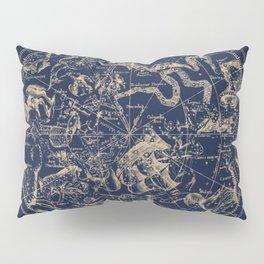 Gold Ceiling   Zodiac Skies Pillow Sham