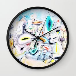 Arshile Gorky - Good afternoon mrs lincoln - Digital Remastered Edition Wall Clock