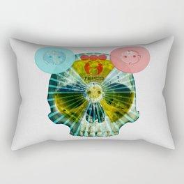 Fukushima - mon amour 2013 · shine on you crazy mankind Rectangular Pillow