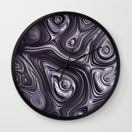 Metal Melt Wall Clock
