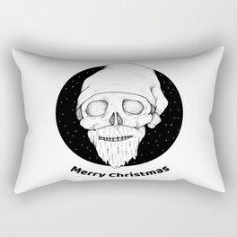 Scary merry christmas Rectangular Pillow