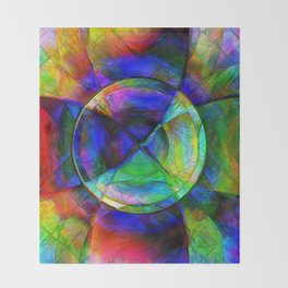 Every New Beginning Comes From Some Other Beginnings' End 4 Throw Blanket