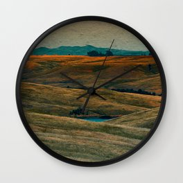 The Beauty of Nothing and Nowhere Wall Clock