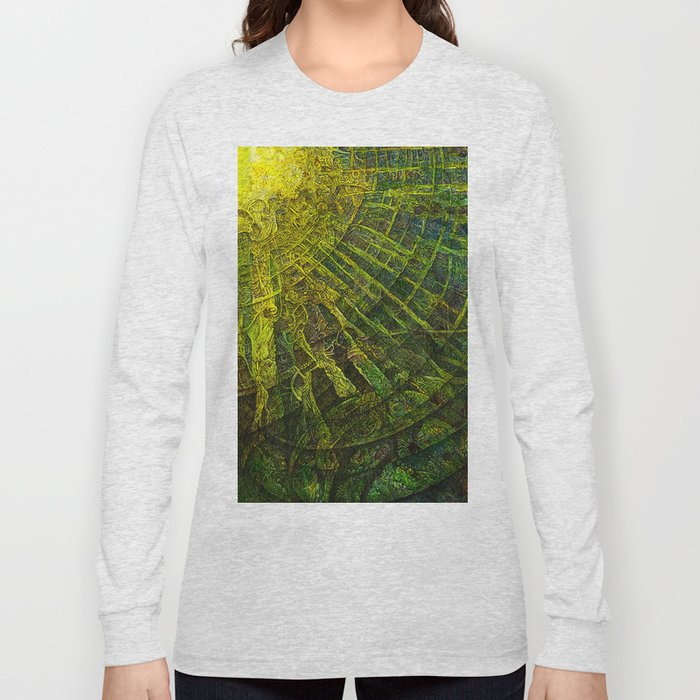 Mayan Awakening Long Sleeve T-shirt