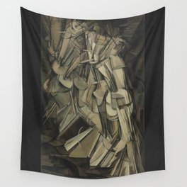 Marcel Duchamp - Nude Descending a Staircase, No. 2 Wall Tapestry