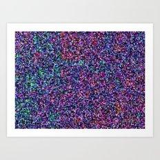 treemap mosaic - [interstellar] dust and gas cloud Art Print