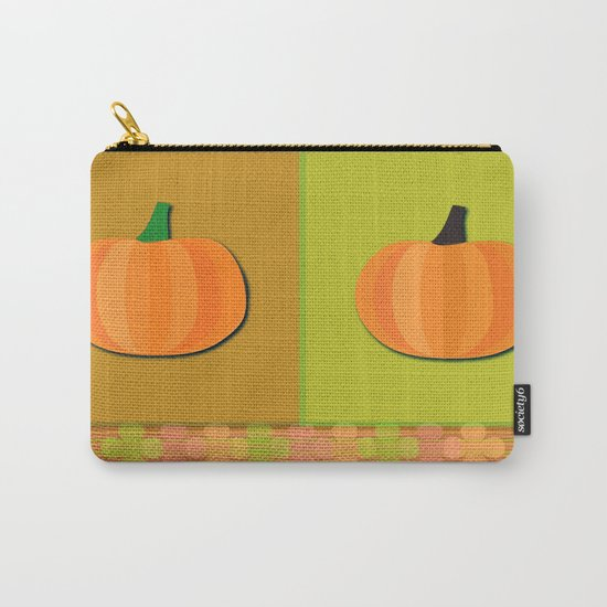Pumpkins Time Carry-All Pouch