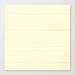Light Wood Texture Canvas Print