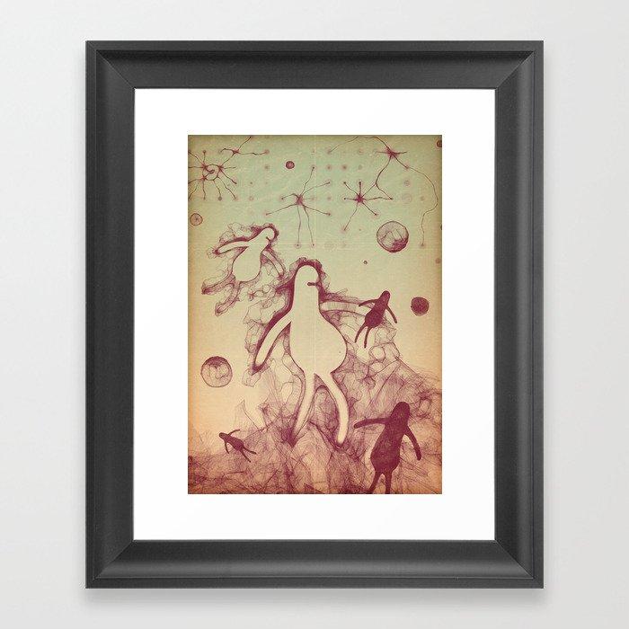 in harmony Framed Art Print