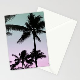 Silhouette Palms Stationery Cards