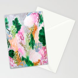 light path: abstract landscape Stationery Cards