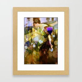 My Yellow Rose Framed Art Print