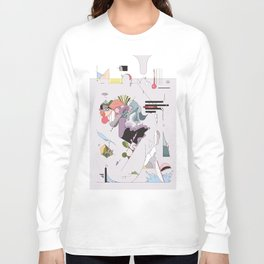 Cover for an imaginary magazine Long Sleeve T-shirt