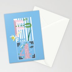 Four Freedoms Barcode Stationery Cards