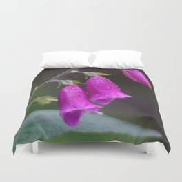 Foxgloves Duvet Cover