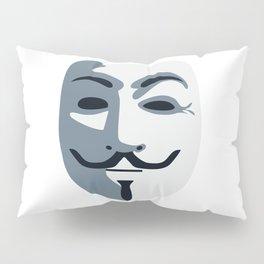 Anonymous Mask #society6 #decor #buyart #artprint Pillow Sham