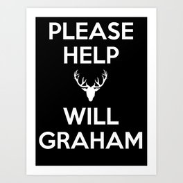 Please Help Will Graham Art Print